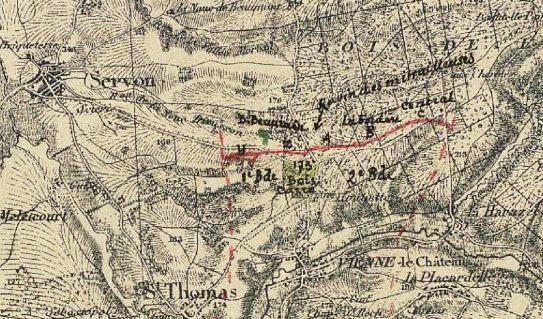 source : JMO de la 15e Division d'infanterie coloniale