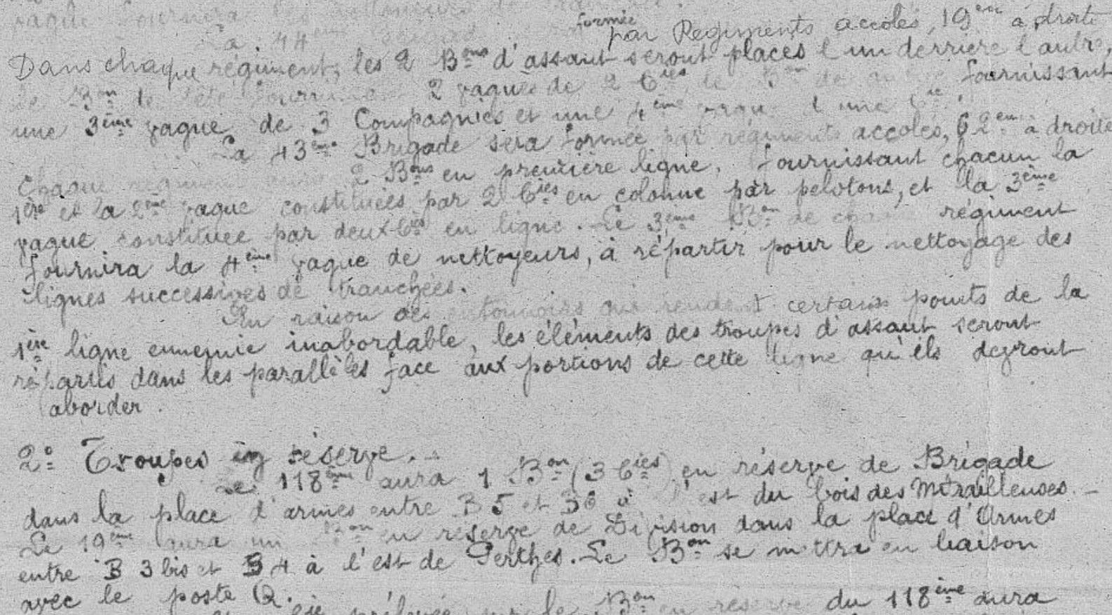 extrait du JMO du 118e RI - 25 septembre 1915 - source MDH