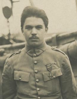 François Trellu, début 1919. Coll. personnelle