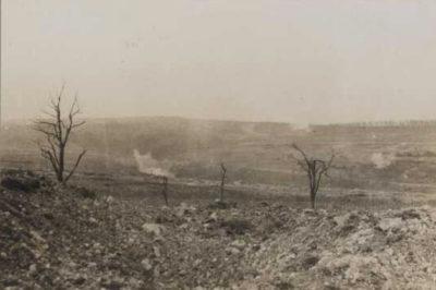 environs de Vaux en février 1916